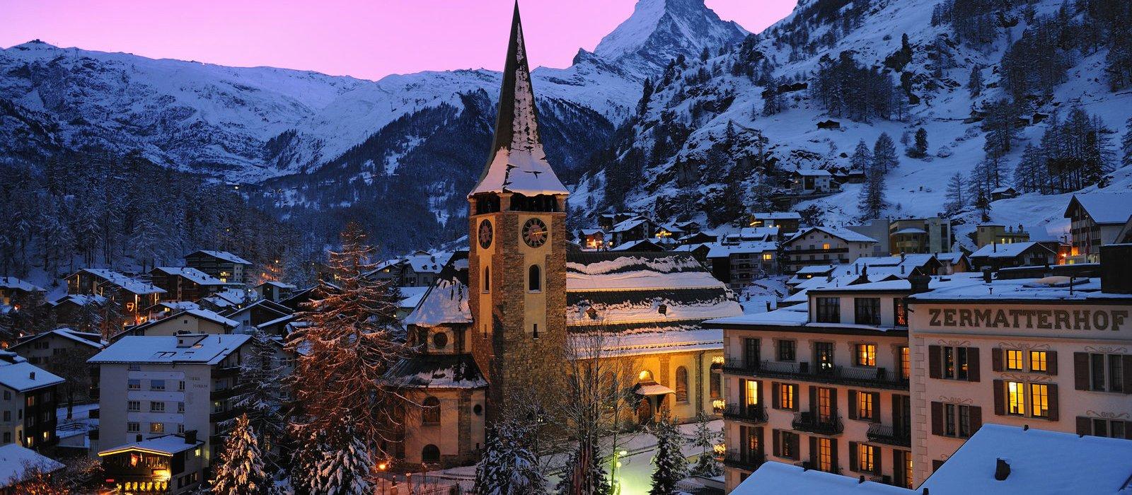 Scenic Switzerland with Paris
